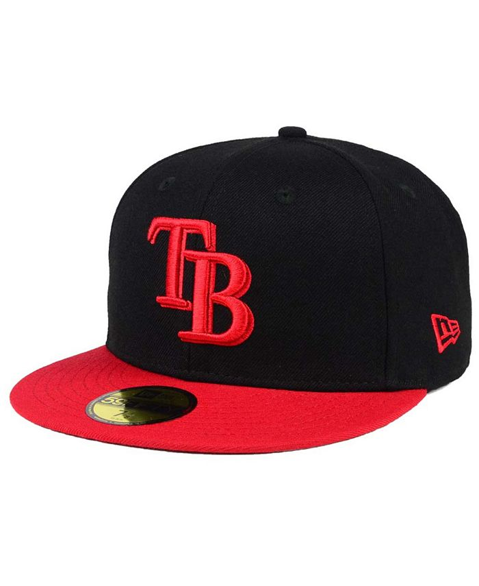 New Era - Black & Red 59FIFTY Cap