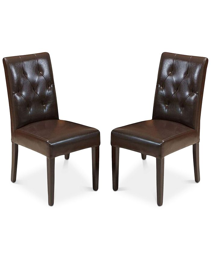 Noble House - Maldan Dining Chairs (Set of 2), Quick Ship