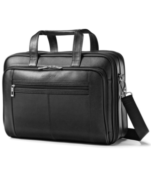 Samsonite Brief, Leather Checkpoint and Laptop Friendly Business Case