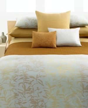 Calvin Klein Home Bedding, Pyrite Luster Standard Pillowcases Bedding