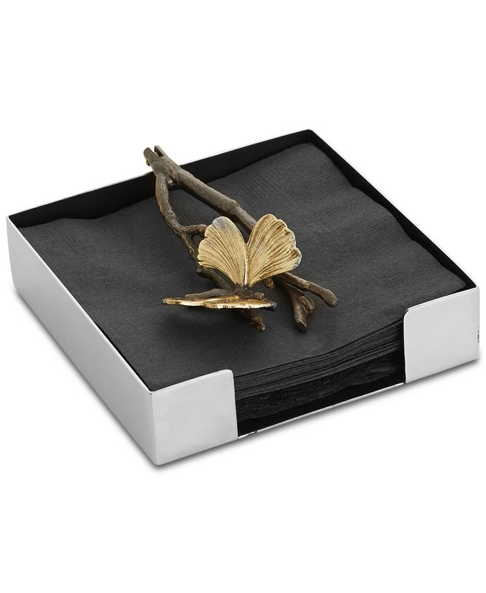 Michael Aram - Butterfly Ginkgo Cocktail Napkin Holder