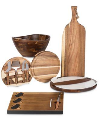 Heritage Collection by Fabio Viviani Acacia Wood 3-Piece Salad Set