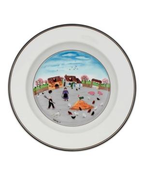 Villeroy & Boch Dinnerware, Design Naif Rim Soup Bowl Country Yard