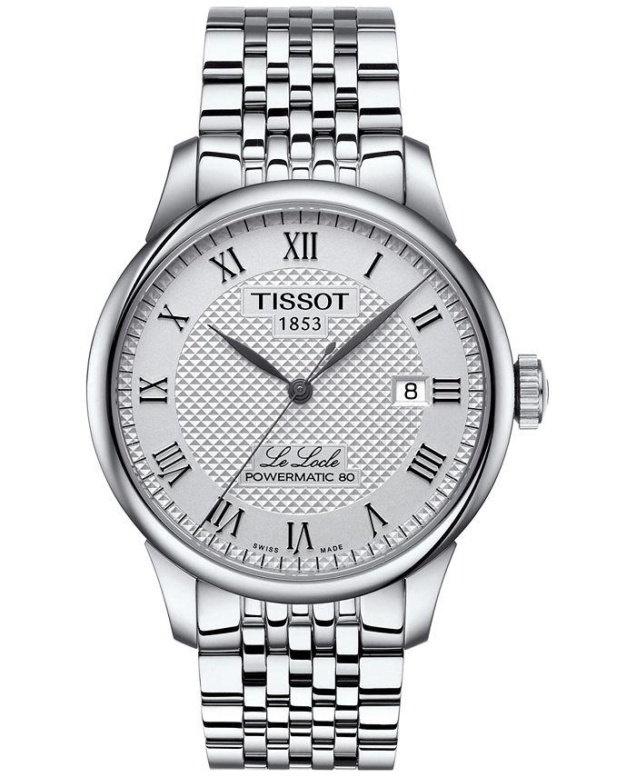 Tissot - Men's Swiss Le Locle Stainless Steel Bracelet Watch 39mm