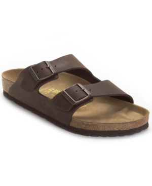 Birkenstock Sandals, Men's Arizona Two Band Oiled Leather Sandal Men's Shoes