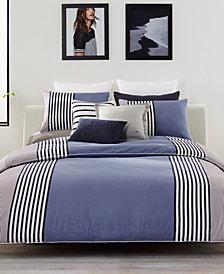 Lacoste Meribel Colorblocked Full/Queen Reversible Comforter Set