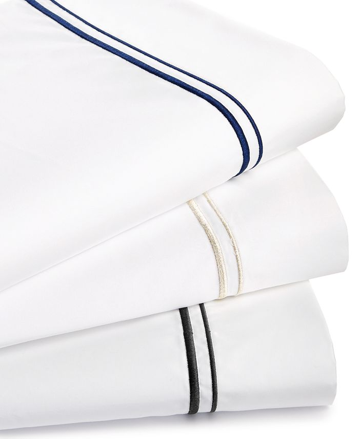 Hotel Collection - 525-Thread Count Embroidered Twin XL Sheet Set