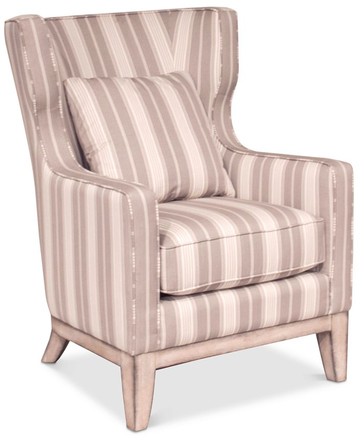 Furniture - Brenalee Smart Fabric Accent Chair, Only at Macy's