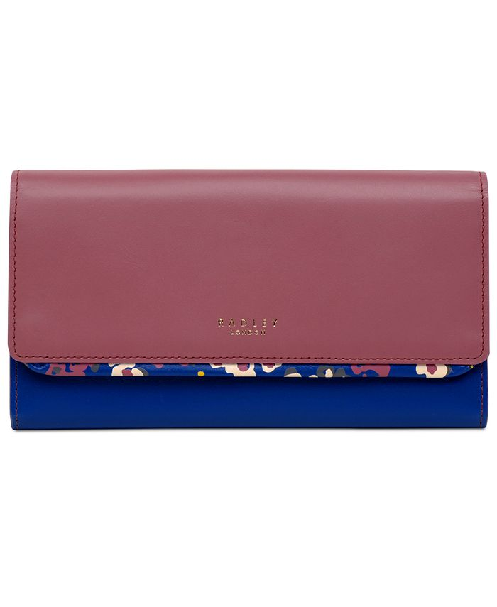 Radley London - Roar Floral Large Flapover Matinee Wallet