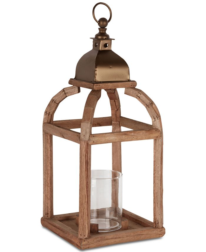 JLA Home - INK+IVY Largo Medium Iron Lantern