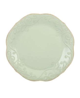 Lenox Dinnerware, French Perle Ice Blue Dinner Plate