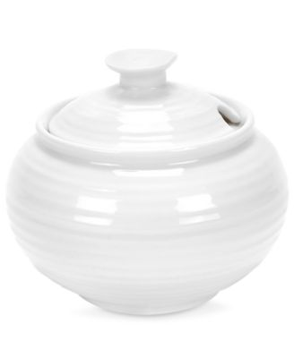 Portmeirion Dinnerware, Sophie Conran White Sugar Bowl