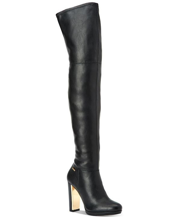 Calvin Klein Women's Pammie Over-The-Knee Boots