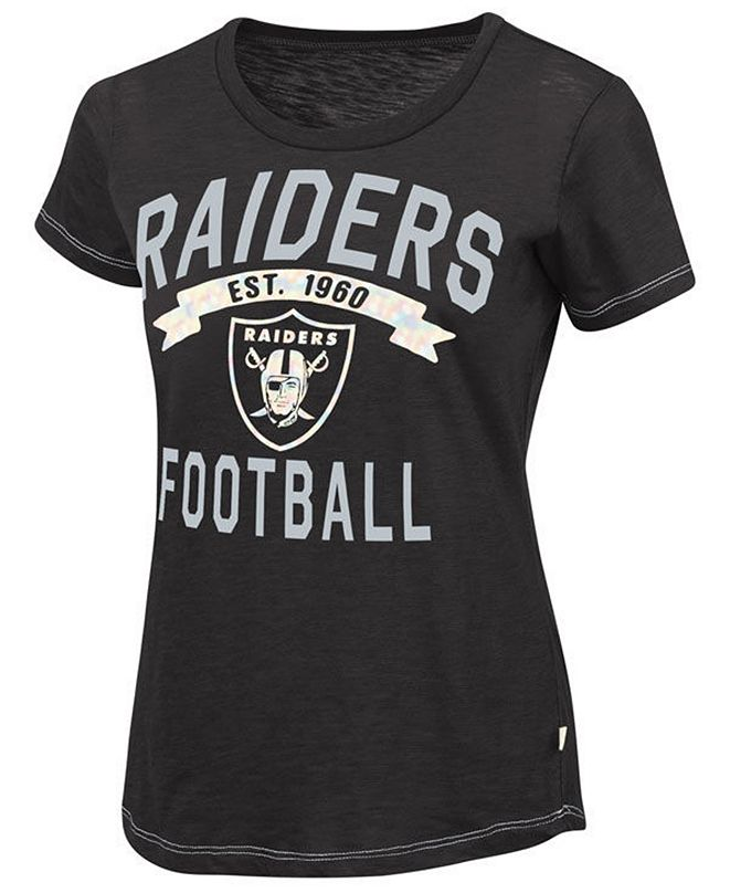 Touch by Alyssa Milano Women's Oakland Raiders MVP T-Shirt
