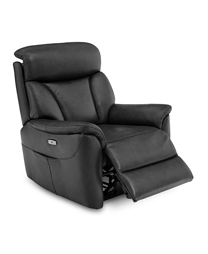 Furniture - Brycin Leather Power Recliner