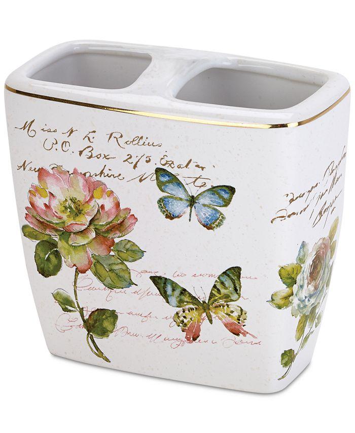 Avanti - Butterfly Garden Toothbrush Holder