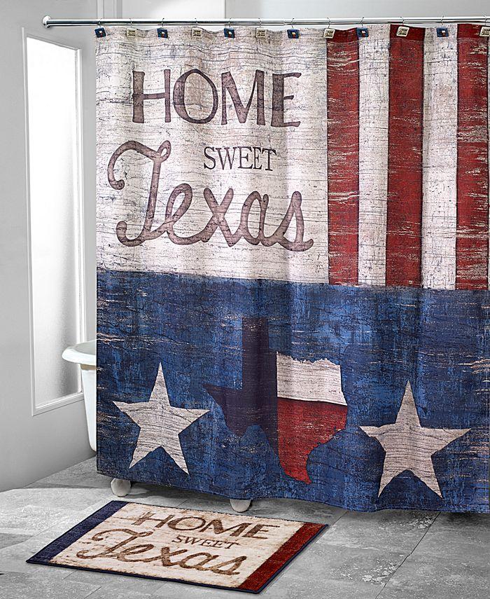 Avanti - Home Sweet Texas Shower Curtain