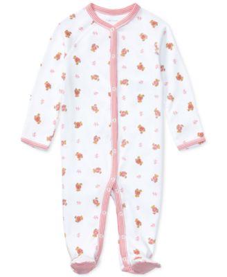 Ralph Lauren Baby Girls Print Coverall