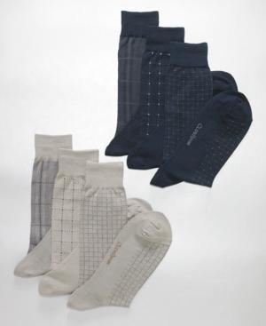 Club Room Socks, Dress Grid 3 Pack