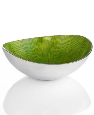 "Simply Designz Serveware, Organic Fruit Bowl, 9"""