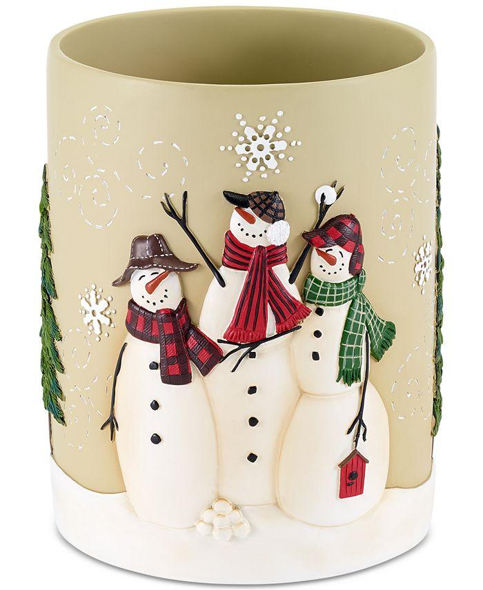 Avanti - Snowman Gathering Wastebasket