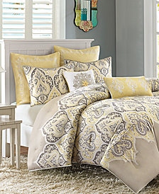 Madison Park Nisha Cotton Sateen 5-Pc. Twin Comforter Set