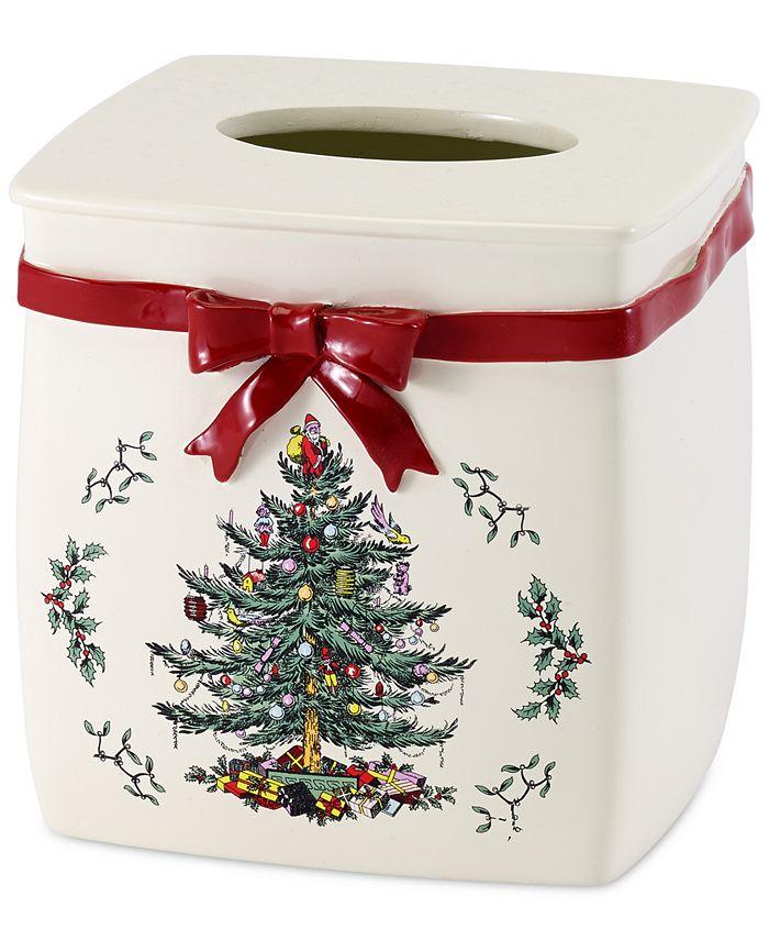 Spode - Christmas Tree Tissue Cover