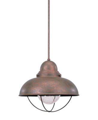 Sea Gull Outdoor Lighting, Sebring Weathered Copper Ceiling ...