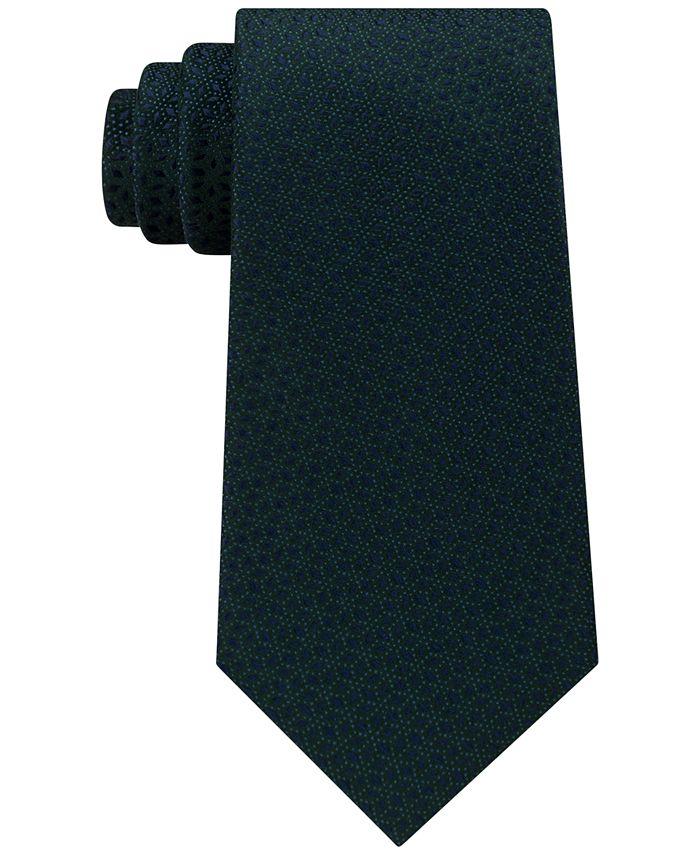 Michael Kors - Men's Pindot Ground Diamond Silk Tie