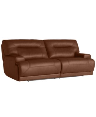 Ricardo Leather Reclining Sofa Power Recliner 88W x 44D x 38H