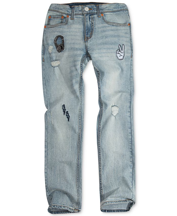 Levi's - 511 Destruction Jeans, Big Boys (8-20)