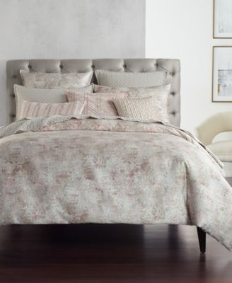 Speckle Cotton Printed Twin Duvet Cover, Created for Macy's
