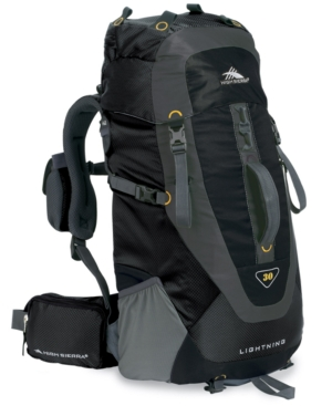 High Sierra Backpack, 30 Liter Lightning Frame Pack