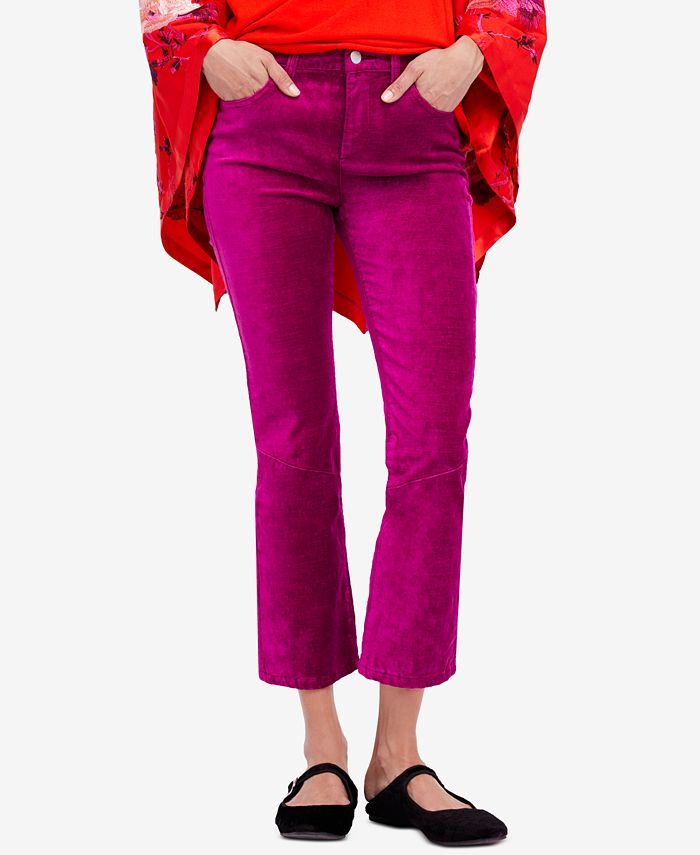 Free People - Velvet Crop Flare Jeans
