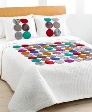 Circles Full/Queen Quilt Bedding