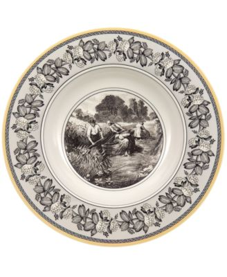 Villeroy & Boch Dinnerware, Audun Ferme Rim Soup Bowl