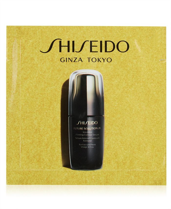 Shiseido - Receive a FREE  Future Solution LX Serum Sample with any skincare purchase
