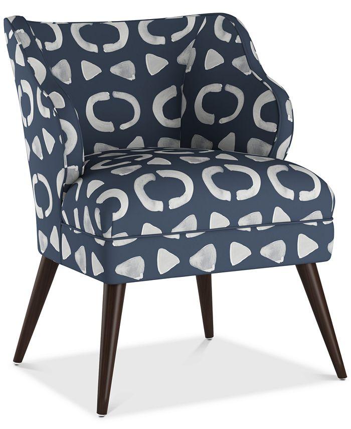 Skyline - Natalie Accent Chair, Quick Ship