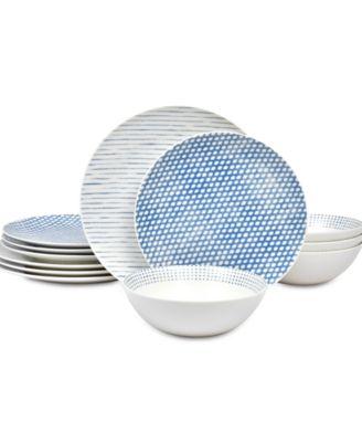 Hammock 12-Pc. Dinnerware Set , Created for Macy's