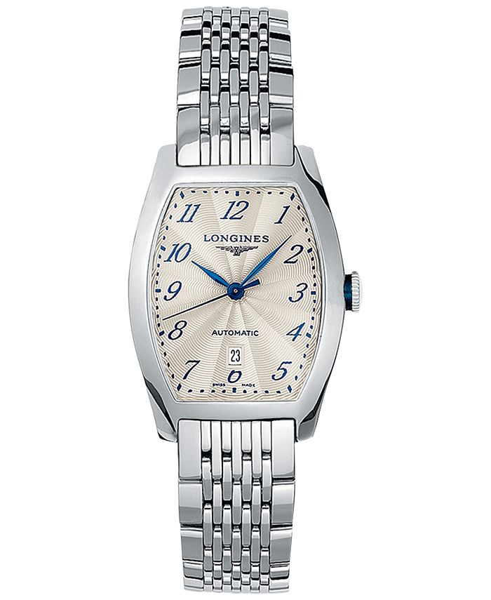 Longines - Men's Swiss Automatic Evidenza Stainless Steel Bracelet Watch 26x30.6mm