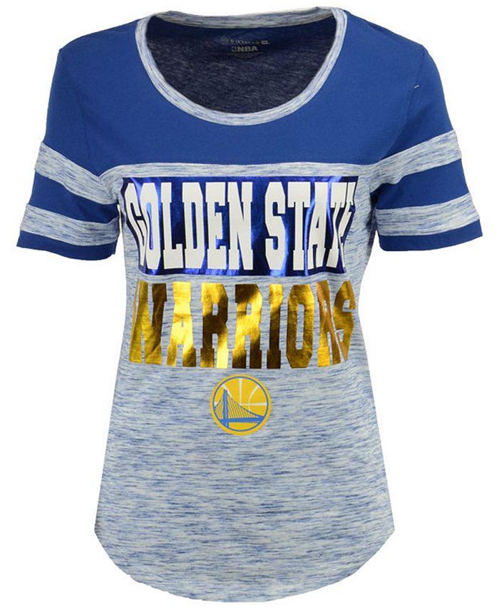 5th & Ocean - Women's Space Dye Foil T-Shirt