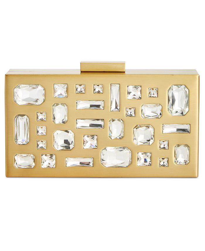 INC International Concepts - Marisoll Embellished Mini Box Clutch