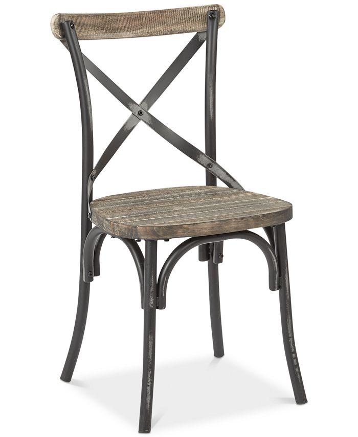 Office Star - Glenman X-Back Dining Chair, Quick Ship