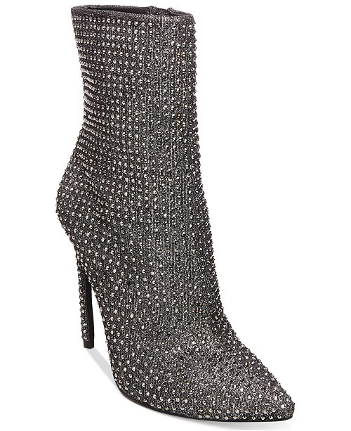 Arqueología blanco lechoso Saqueo  Steve Madden Women's Wifey Embellished Booties & Reviews - Boots - Shoes -  Macy's