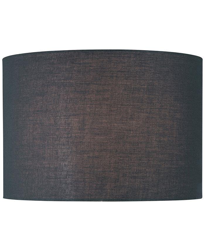 "Lite Source - 16"" Fabric Drum Lamp Shade"