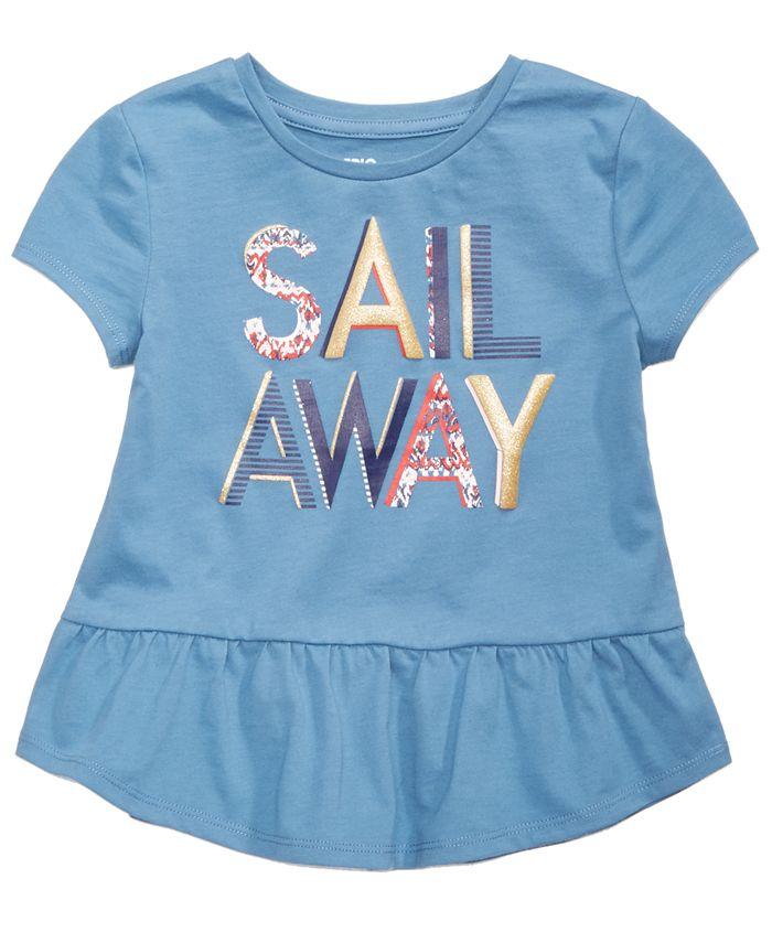 Epic Threads - Sail Away T-Shirt, Little Girls (2-6X)