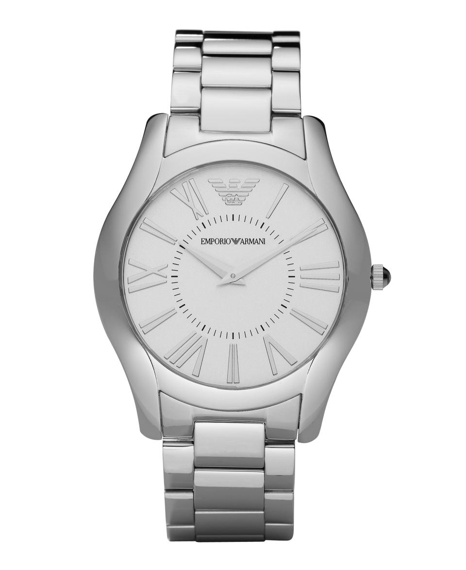Emporio Armani Watch, Mens Chronograph Black Silicone Wrapped