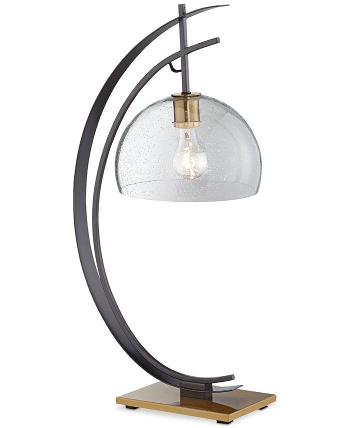 Kathy Ireland - Kie Half Moon Table Lamp
