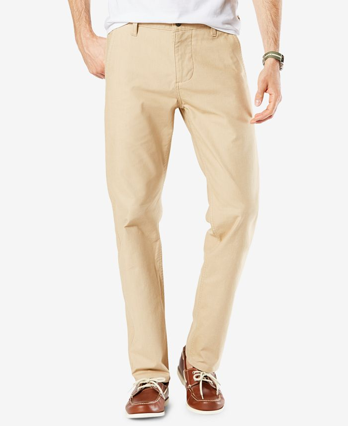 Dockers - Men's Alpha Slim-Fit Tapered Stretch Twill Pants