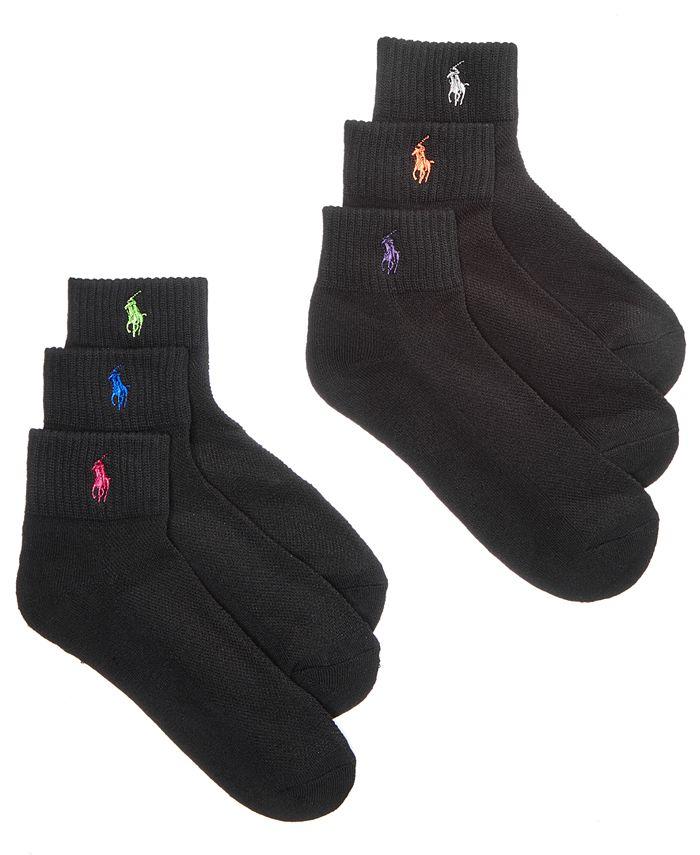Polo Ralph Lauren - Sport Quarter 6 Pack Socks